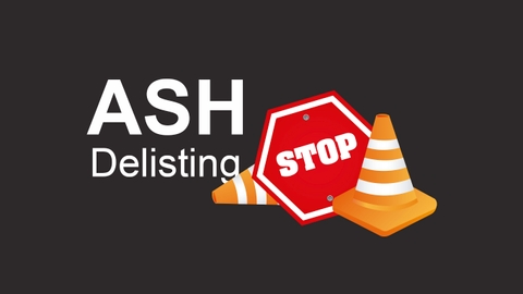 featured image thumbnail for post Delisting ASH